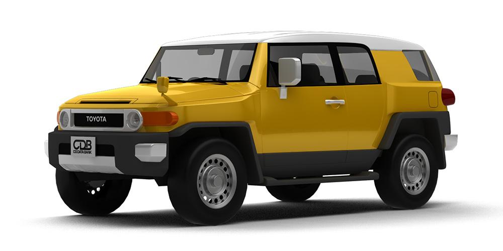 トヨタ FJクルーザー'12 モデリングデータ