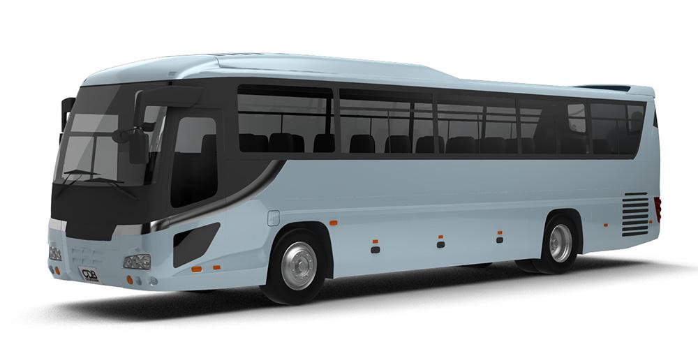 いすゞGALA HIDECKER'10 貸切バス モデリングデータ