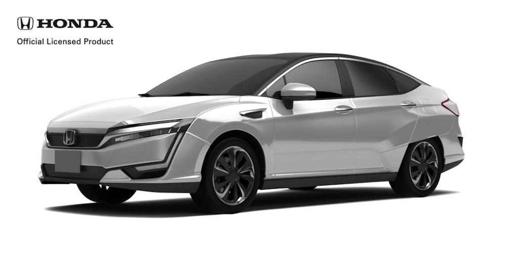 Honda クラリティ FUEL CELL '16 モデリングデータ