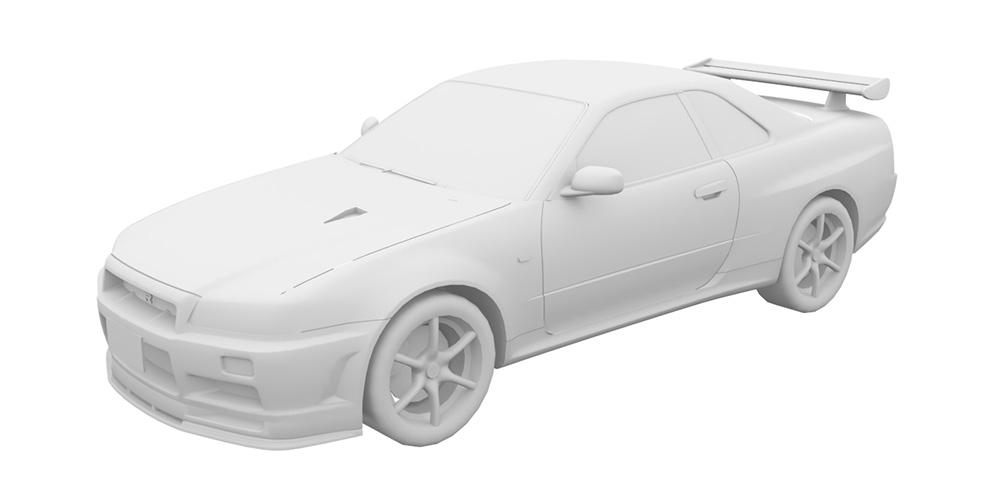 スカイラインGT-R(R34型) '01