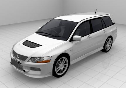 ランサーエボリューションワゴンMR'06